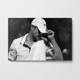 Andy Roddick Tennis Win at Miami Open Metal Print