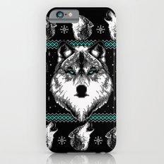 Merry Wolfmas iPhone 6s Slim Case