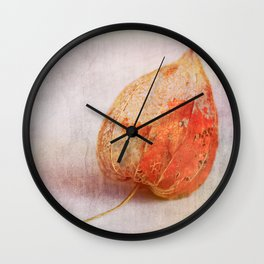 Physalis - JUSTART © Wall Clock