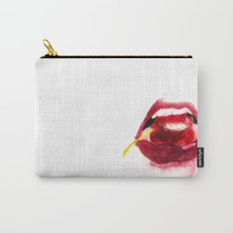 Cherry Lips Carry-All Pouch