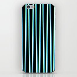 Between the Trees Black, Blue & Green #312 iPhone Skin