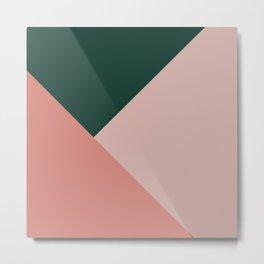 Geometric Summer Delight #1 #minimal #decor #art #society6 Metal Print