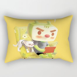 Hmm Rectangular Pillow