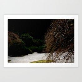 JAPANESE DEW DROPS Art Print