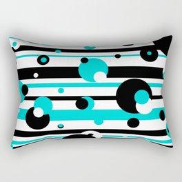 Floating Balls Rectangular Pillow