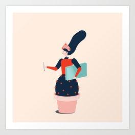 Mood 2 Art Print
