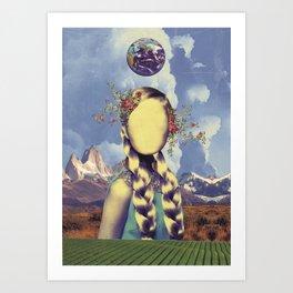 COSMIC PORTRAITS//02 Art Print