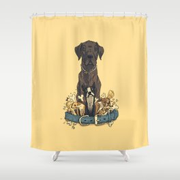 Dogs1 Shower Curtain