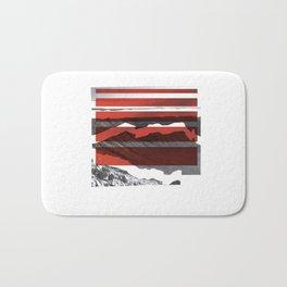 Red Terrain Bath Mat