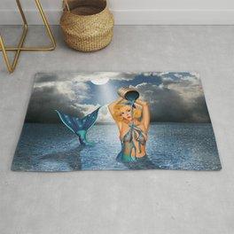 The bathtub of the mermaid Rug
