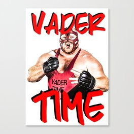 vader time print Canvas Print