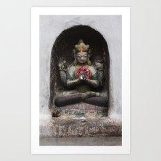 Bodhinath Shrine - 4 of 6 Art Print