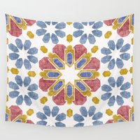 morocco Wall Tapestries featuring Morocco by Vicky Webb
