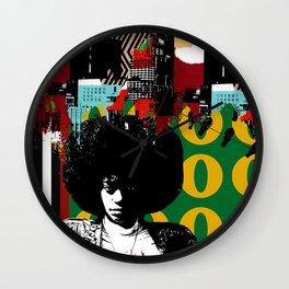 AFRO CITY Wall Clock