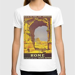 Vintage poster - Rome T-shirt