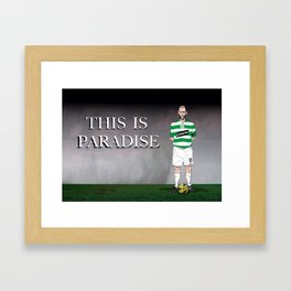the hoops Framed Art Print