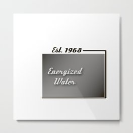 Energized Water Metal Print
