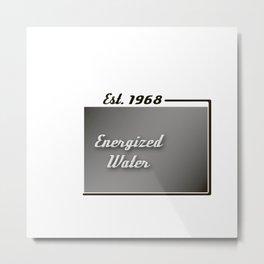 Energized Water Metal Print