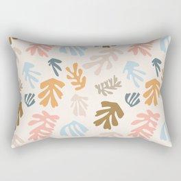 Seaweeds and sand Rectangular Pillow