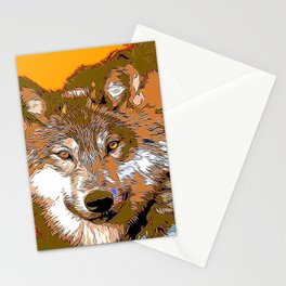 Wolf20151116 Stationery Cards