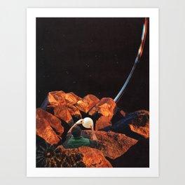 Lantern Holder Art Print