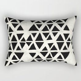 Tribal Geometric Rectangular Pillow