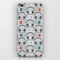 Headphones Pattern iPhone & iPod Skin