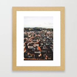 Florence From Above Framed Art Print