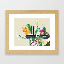 Disorder in Progress Framed Art Print