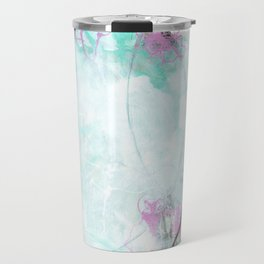 Crossroads - Square Abstract Expressionism Travel Mug