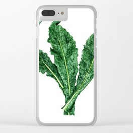 Kale Clear iPhone Case