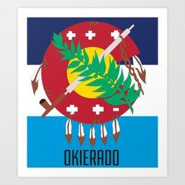 OKIERADO Art Print