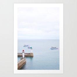 02. Belle Île en Mer, Bretagne, France Art Print