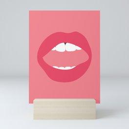 LIPS II Mini Art Print