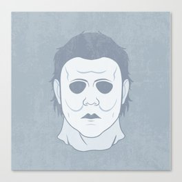 Myers Mask Canvas Print