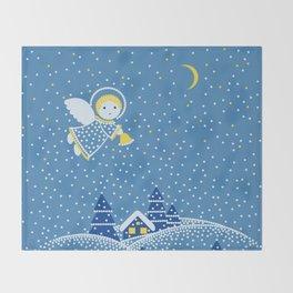MAGIC ANGEL Throw Blanket