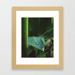 Marble Rain Framed Art Print