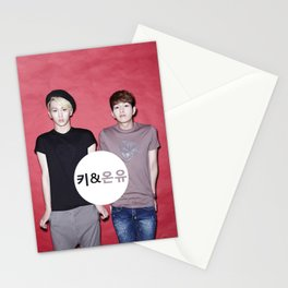 Key and Onew  Stationery Cards