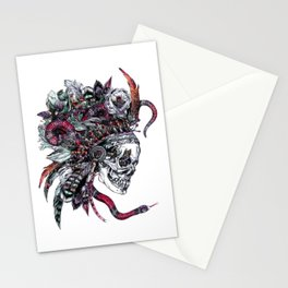 Death God Itzamna Stationery Cards
