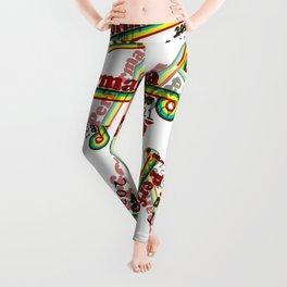 Perform-A-rama Logo Collage Leggings