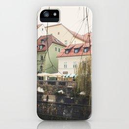 Ljubljana landscape iPhone Case