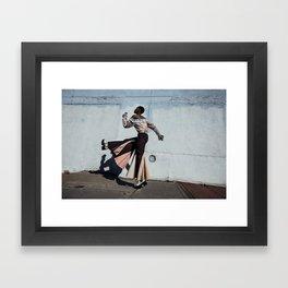 Step Away Framed Art Print