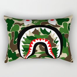 bape camo Rectangular Pillow