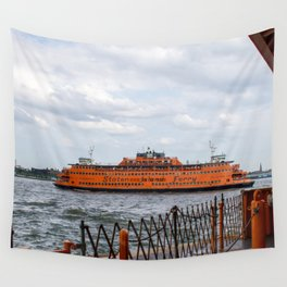 S.I. Ferry NYC Wall Tapestry