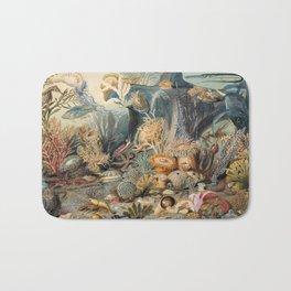 Ocean Life - James M. Sommerville (1825–1899) Bath Mat