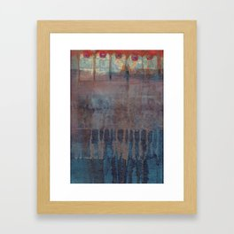 not the weapon but the hand Framed Art Print