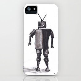 Awkward Robot iPhone Case