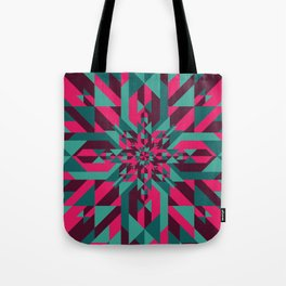 Star Quilt Tote Bag