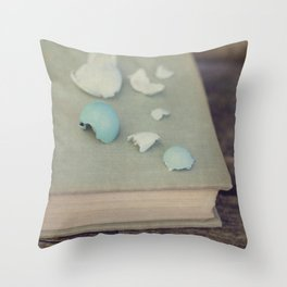 Robin Egg Collection Throw Pillow