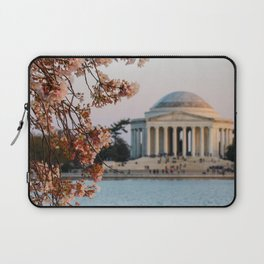 Cherry Blossoms at the Jefferson Laptop Sleeve